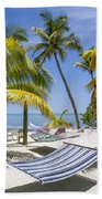 Florida Keys Wellness Beach Towel