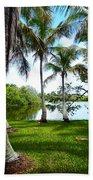 Florida Lake Beach Towel