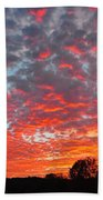 Florida Spring Sunset Beach Towel