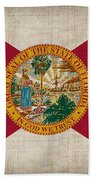 Florida State Flag Beach Towel