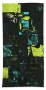 Florus Pokus A01 Beach Towel by Variance Collections