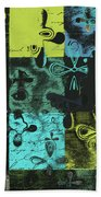Florus Pokus A02 Beach Towel by Variance Collections