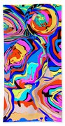 Abstract Art Painting #2 Beach Towel