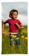 Flower Child Beach Towel