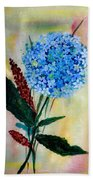 Flower Decor Beach Towel
