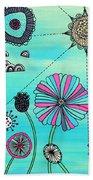 Flower Fever Beach Sheet