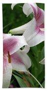Flower Garden 20 Beach Towel
