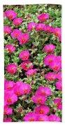 Flower Garden 38 Beach Towel