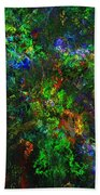 Flower Garden Gone Wild Beach Towel