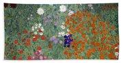 Flower Garden Beach Sheet