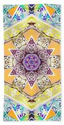 Flower Goddess Beach Towel