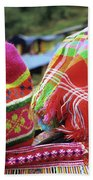 Flower Hmong Baby 05 Beach Towel