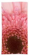 Flower - I Love Pink Beach Towel