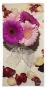 Flower Love Beach Towel