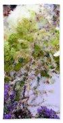 Flower Market Ile De La Cite Beach Towel