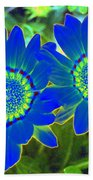 Flower Power 1451 Beach Towel