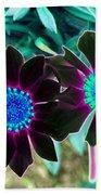 Flower Power 1456 Beach Towel