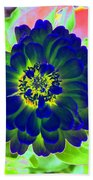 Flower Power 1460 Beach Towel