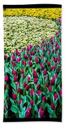 Flower Sea Beach Towel