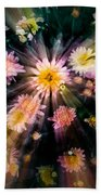 Flower Song On Fairy Wing Beach Towel