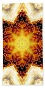 Flower Stars Beach Towel