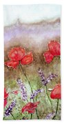 Flowering Field Beach Towel