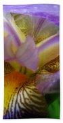 Flowering Iris Beach Towel