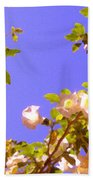 Flowering Tree 2 Beach Towel