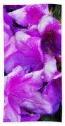Flowers 2078 Acanthus Beach Towel