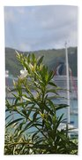 Flowers And Freedom Beach Towel