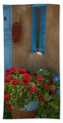 Flowers At Ranchos De Taos Beach Towel