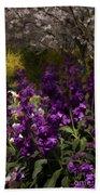 Flowers Dallas Arboretum V18 Beach Towel