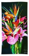 Flowers For You 1 Beach Towel