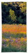 Flowers In The Meadow Beach Towel