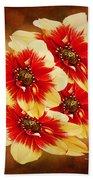 Flowers Of Flowers Beach Towel
