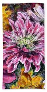 Flowers Of Love Beach Towel