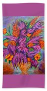 Flowers Of Passion Beach Towel