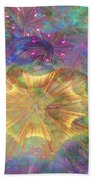 Flowerworks - Square Version Beach Towel