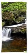 Flowing Falls Beach Towel