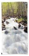 Flowing Fast Beach Towel