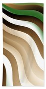Flowing Graphic Beach Towel