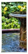 Flowing Water Beach Towel