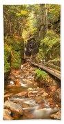 Flume Gorge Landscape Beach Towel