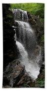 Flume Gorge Waterfall Nh Beach Towel