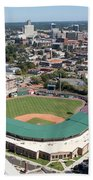 Fluor Field At The West End Greenville Beach Towel