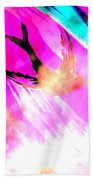 Fly Away Home Abstract Beach Towel