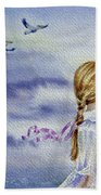 Fly With Us Beach Towel