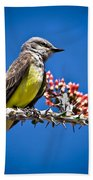 Flycatcher Beach Towel