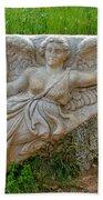 Flying Angel In Ephesus-turkey Beach Towel