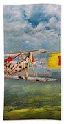 Flying Pigs - Plane - Eat Beef Beach Towel